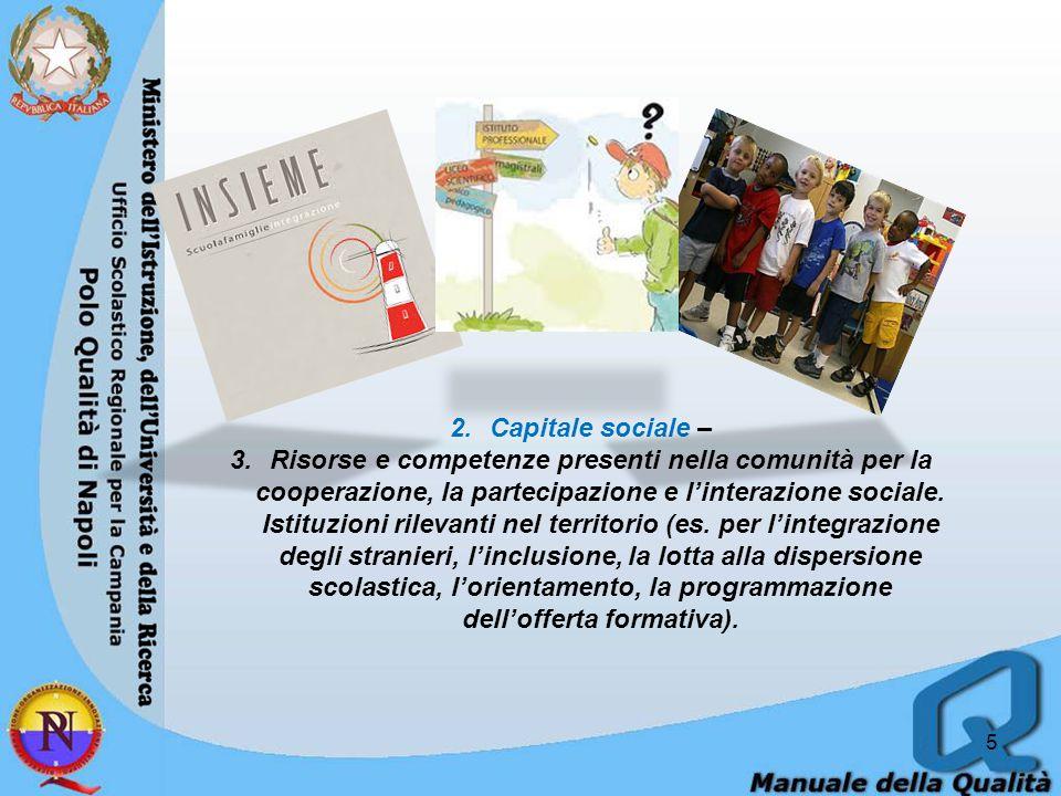 6 3.Risorse economiche e materiali - Livello e grado di diversificazione delle fonti di finanziamento della scuola (es.