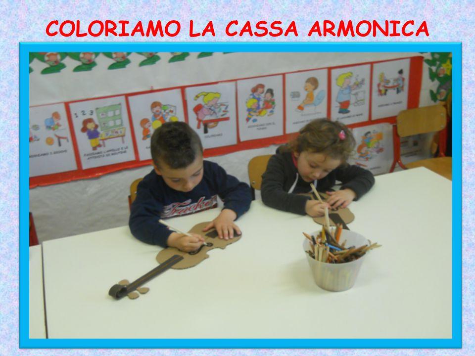 COLORIAMO LA CASSA ARMONICA