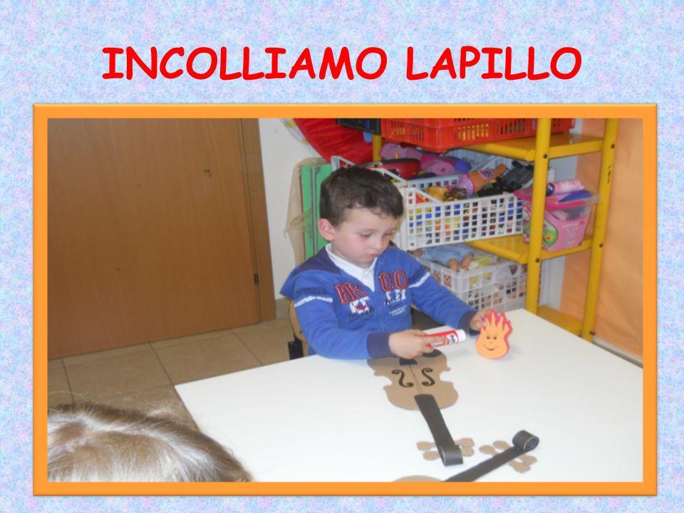 INCOLLIAMO LAPILLO