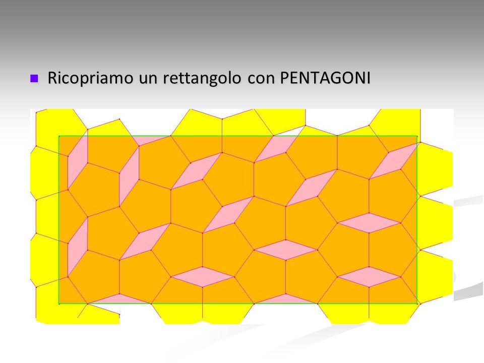 Ricopriamo un rettangolo con PENTAGONI Ricopriamo un rettangolo con PENTAGONI