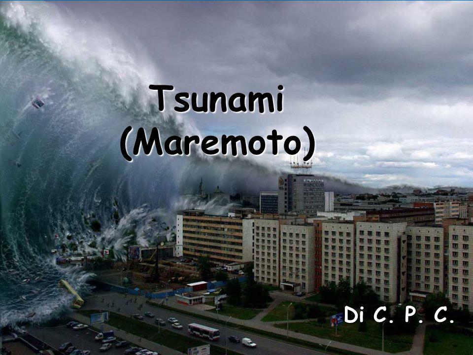 Tsunami (Maremoto) Criste Paula - Cristina Tsunami (Maremoto) Di C. P. C. Tsunami (Maremoto)