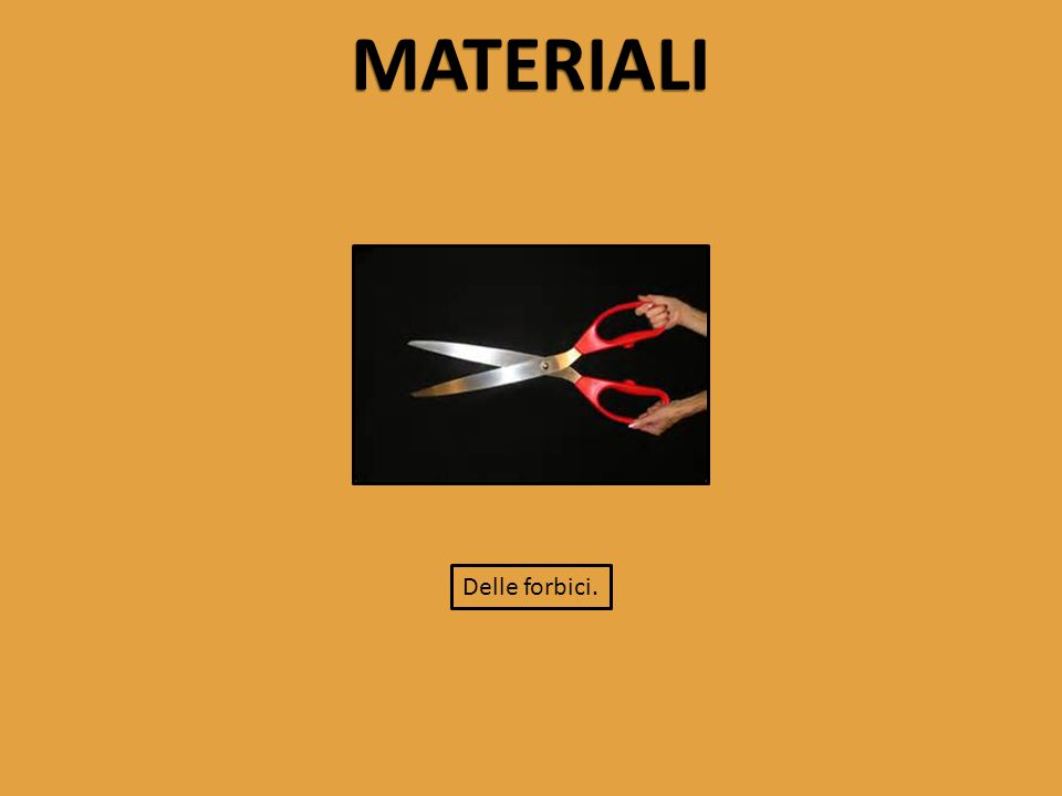 STRUMENTI DI MISURA Oltre ai materiali, sono serviti anche degli strumenti di misura per portare a buon fine l'esperimento.
