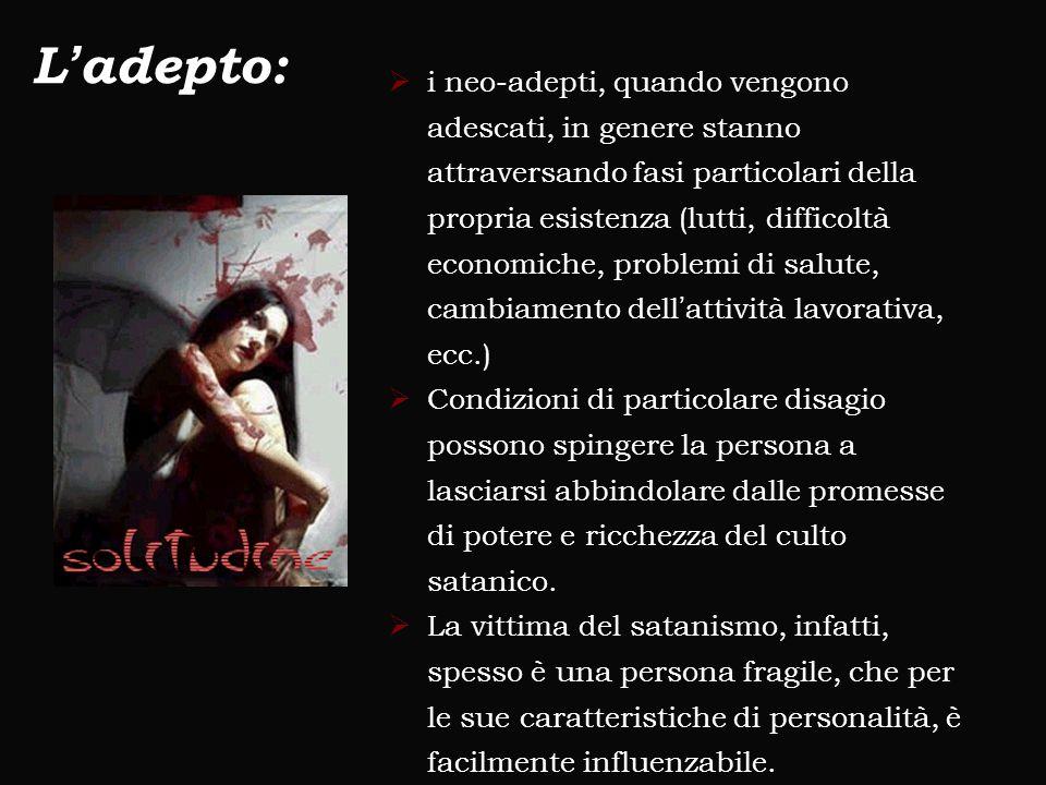 L'adepto: [1] [1] Cantelmi T., La Selva P., Paluzzi S., Psicologia e Teologia in Dialogo, Edizioni San Paolo, Cinisello Balsamo (Mi), 2004.  i neo-ad