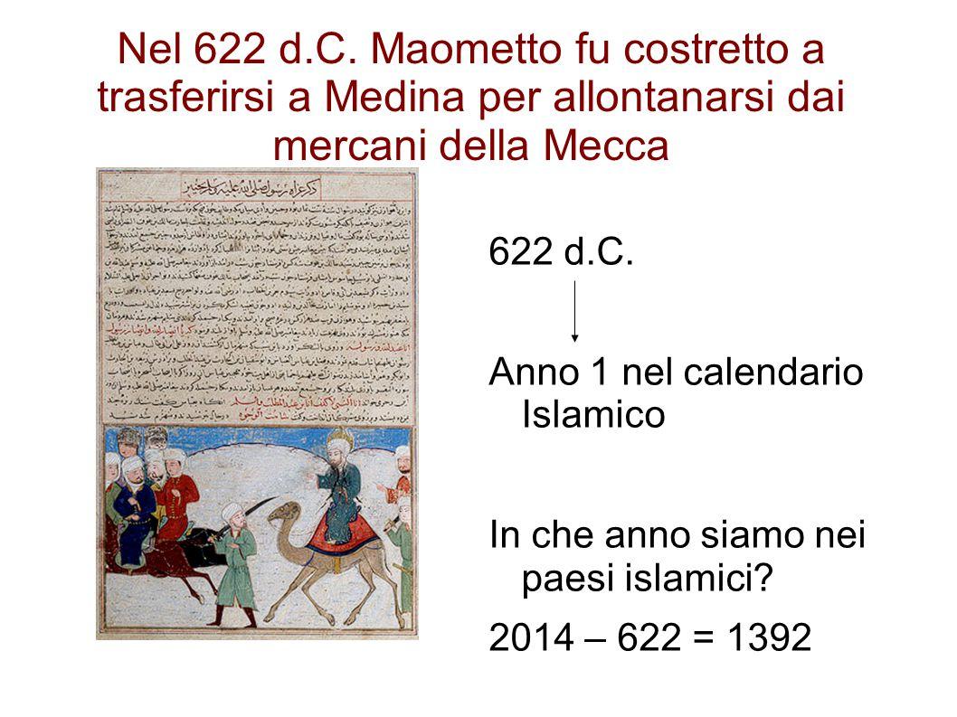 Nel 622 d.C.