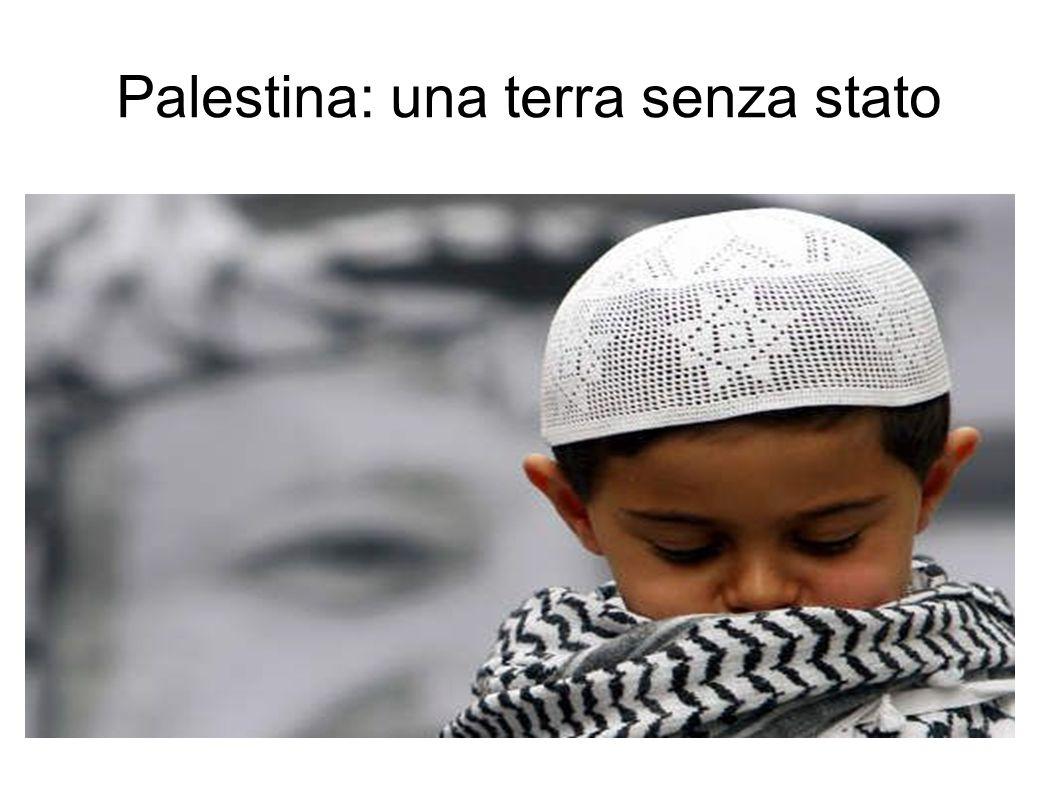 Palestina: una terra senza stato