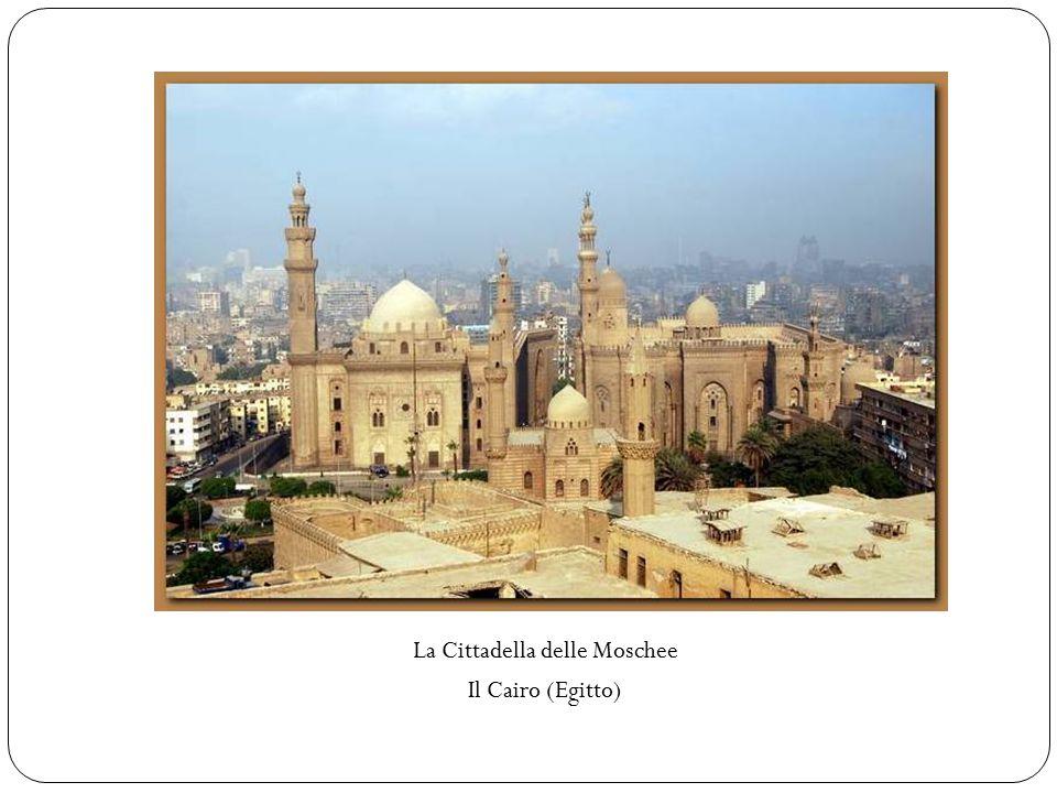 La Cittadella delle Moschee Il Cairo (Egitto)