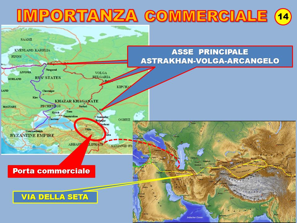 INGUSCEZIA INGUSCEZIA 14 VIA DELLA SETA ASSE PRINCIPALE ASTRAKHAN-VOLGA-ARCANGELO Porta commerciale