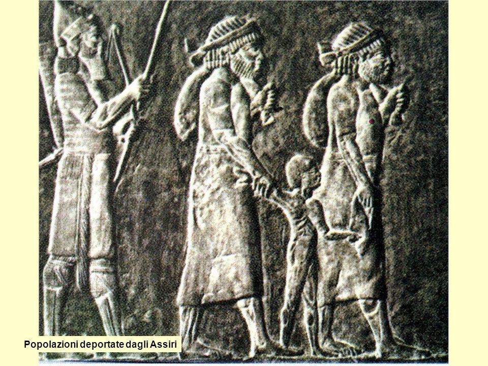 Popolazioni deportate dagli Assiri