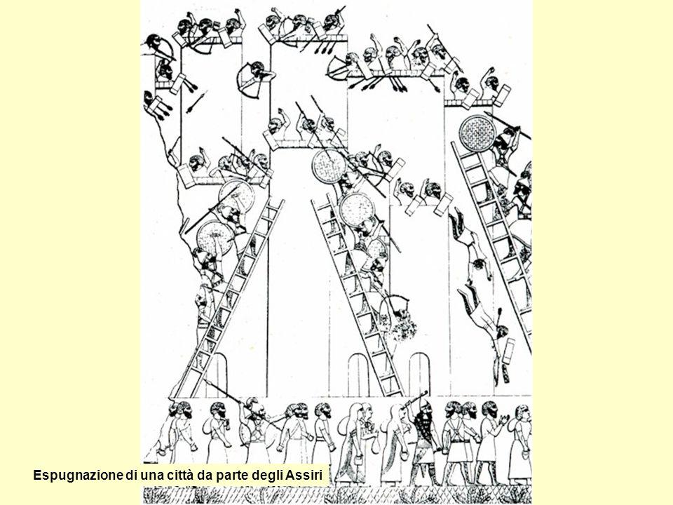 Israeliti portano il tributo agli Assiri
