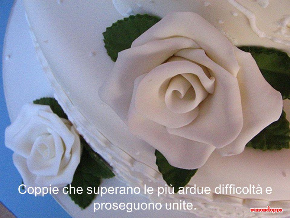 Coppie che superano le più ardue difficoltà e proseguono unite.
