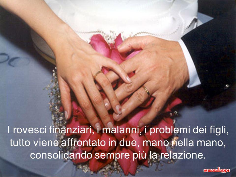 Provaci. Tenta. E vedrai la tua relazione coniugale accrescersi di fiori, d'amore e di allegria.