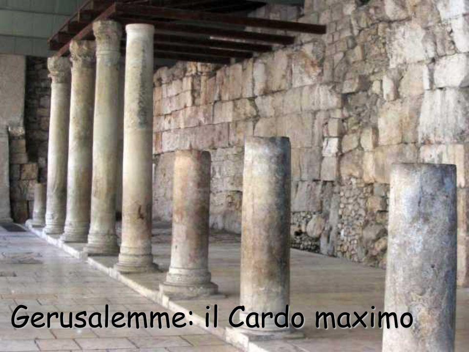 Gerusalemme: il Cardo maximo