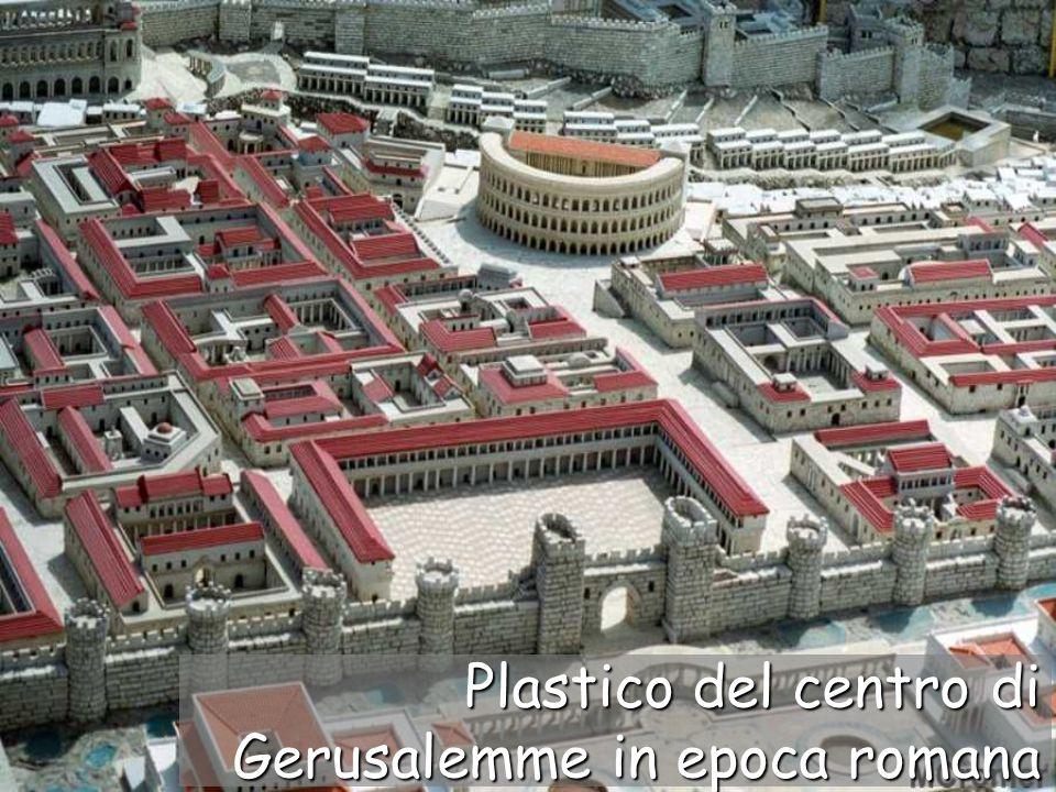 Plastico del centro di Gerusalemme in epoca romana