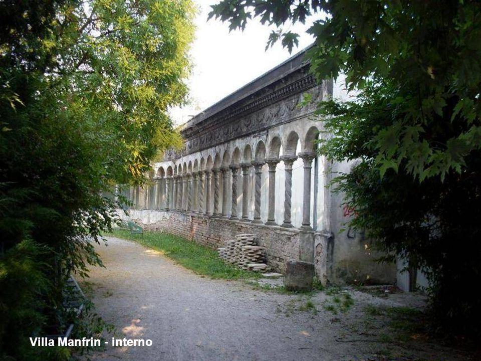 Villa Manfrin - ingresso