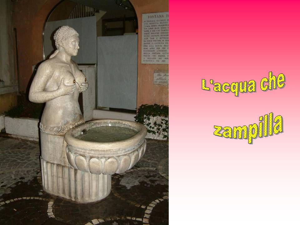 L'antica Fontana delle tette