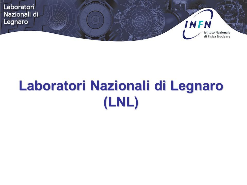 L'Istituto Nazionale di Fisica Nucleare (INFN) Promuove, coordina ed effettua la Ricerca nel campo della: - Fisica del Nucleo - Particelle Elementari - Interazioni fondamentali - Ricerca Interdisciplinare - Ricerca e sviluppo tecnologico (in collaborazione con le Università)