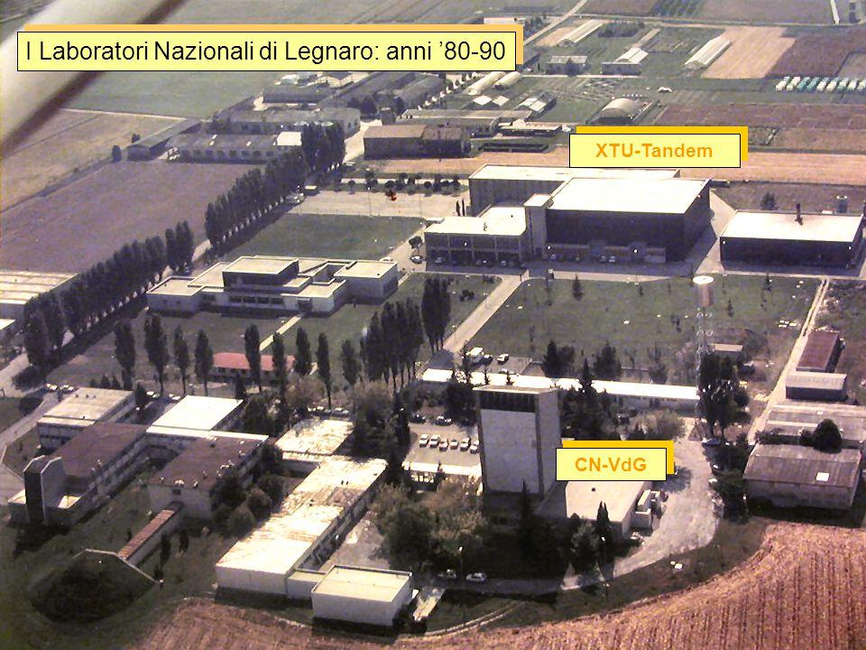 I Laboratori Nazionali di Legnaro oggi Ingresso