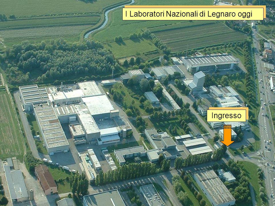 Fisica nucleare fondamentale Tandem Piave-Alpi I Laboratori Nazionali di Legnaro oggi Sale 1&2 Sala 3