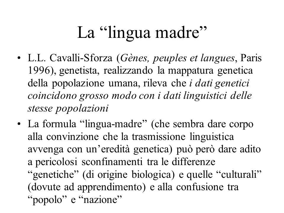 La lingua madre L.L.