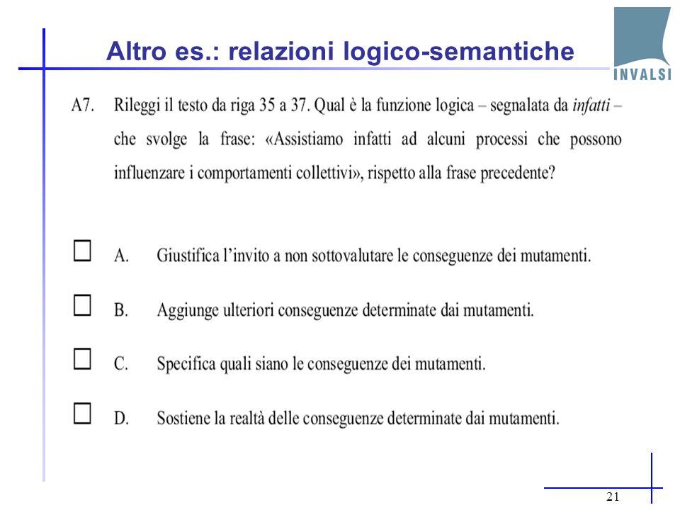 20 4.Relazioni di coesione e coerenza A10.