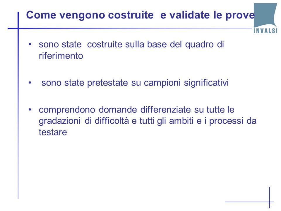 Struttura tipica di una prova di Italiano del primo ciclo di istruzione (SNV e PN) Testo narrativo Seguito da un certo numero di domande (da 12 a 18,