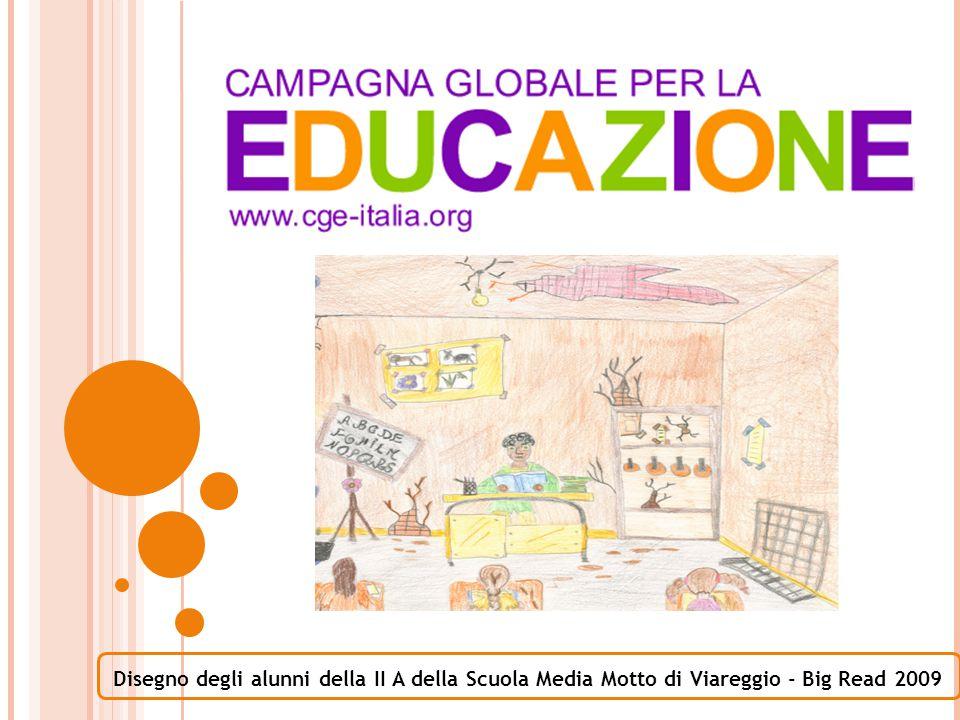 Disegno degli alunni della II A della Scuola Media Motto di Viareggio - Big Read 2009