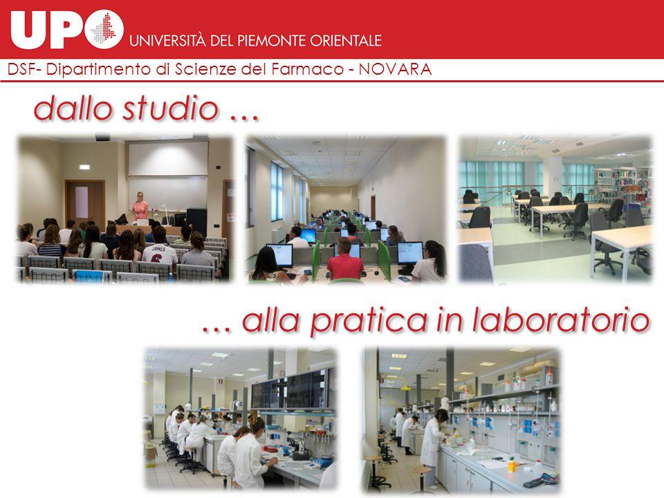 DSF- Dipartimento di Scienze del Farmaco - NOVARA CHIMICA E TECNOLOGIA FARMACEUTICHE