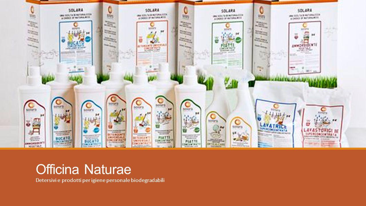 Officina Naturae Detersivi e prodotti per igiene personale biodegradabili