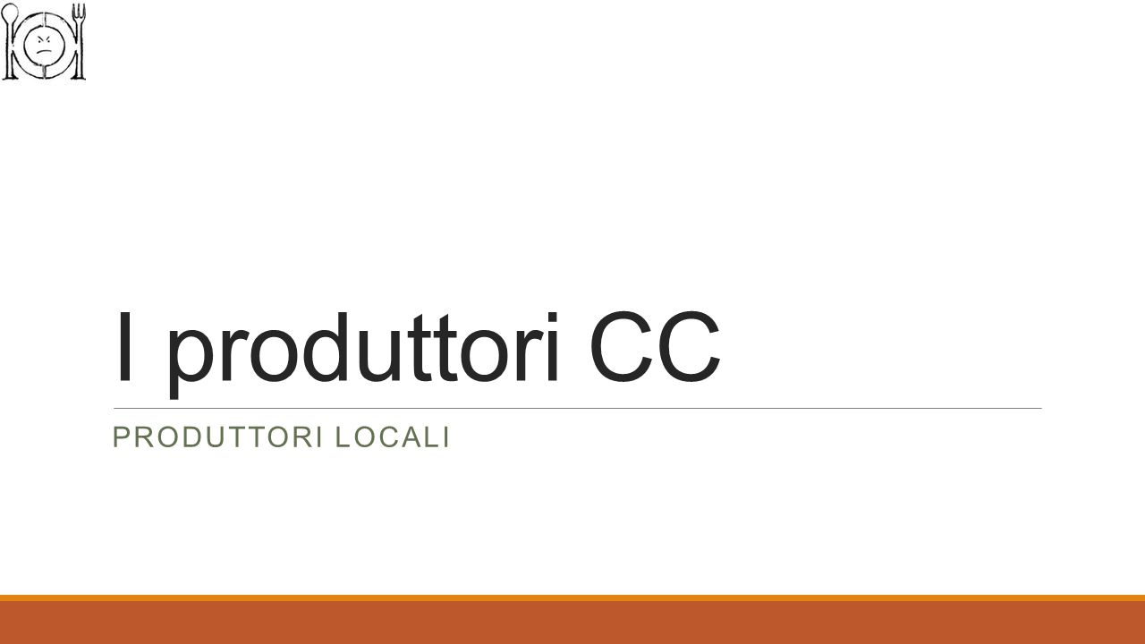 I produttori CC PRODUTTORI LOCALI