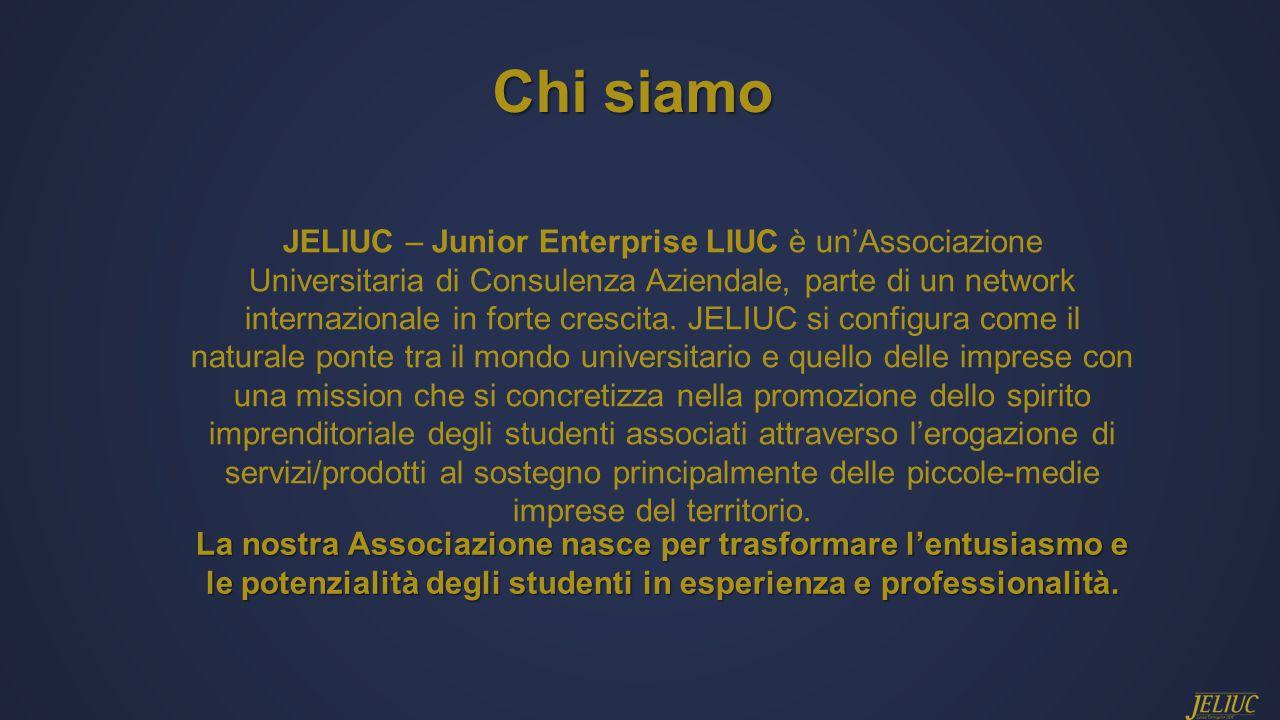 JELIUC – Junior Enterprise LIUC è un'Associazione Universitaria di Consulenza Aziendale, parte di un network internazionale in forte crescita.