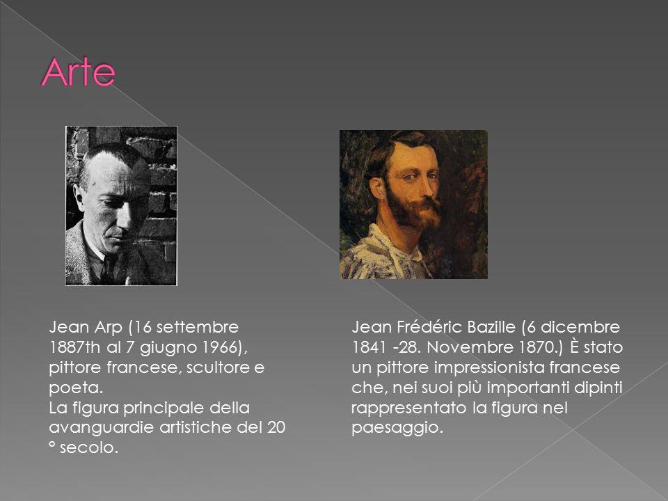 Jean Arp (16 settembre 1887th al 7 giugno 1966), pittore francese, scultore e poeta. La figura principale della avanguardie artistiche del 20 ° secolo