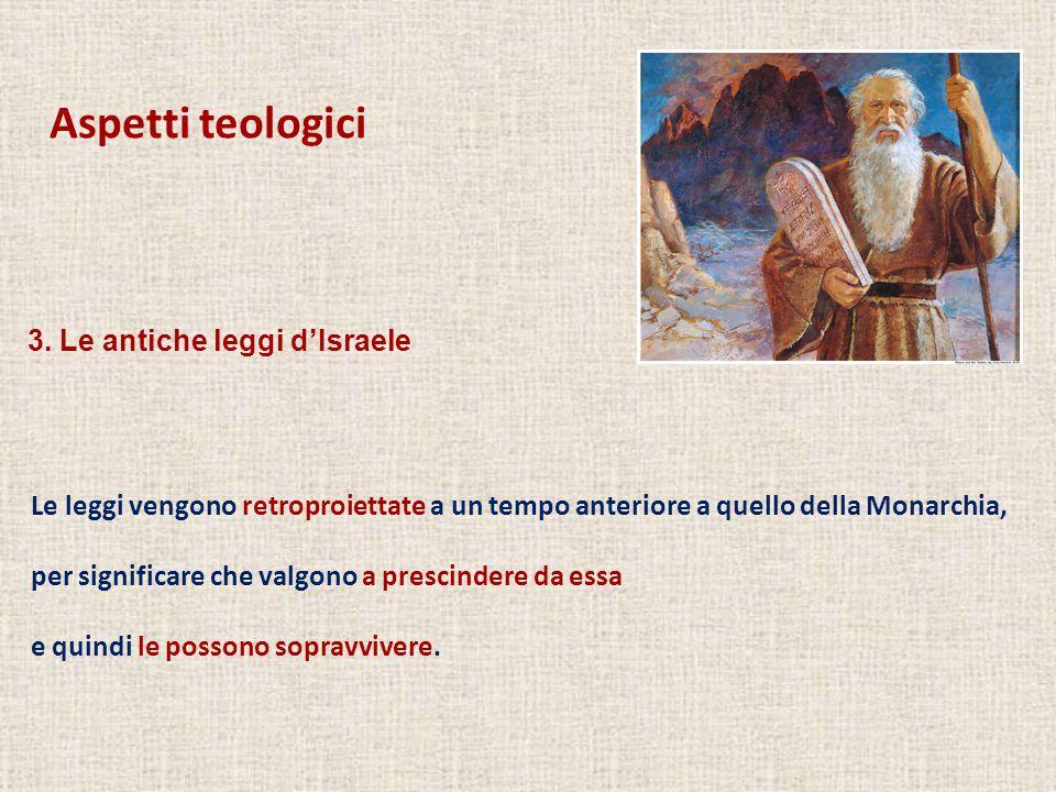 Aspetti teologici 1.Contenuto nella Genesi, è la storia dei Patriarchi.