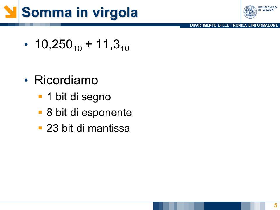 DIPARTIMENTO DI ELETTRONICA E INFORMAZIONE Ricerca Vettori: Stampa 56