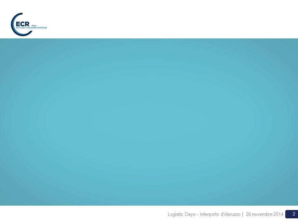 3 La sfida Come è nato il progetto –Varie sollecitazioni da parte di Aziende ECR che sono state confermate da incontri e indagini preventive –Sostenibilità: tema alto nelle agende delle aziende La realtà di partenza –Il trasporto ferroviario svolge oggi un ruolo marginale per il settore largo consumo –Necessità di approfondire gli elementi critici che ad oggi ne hanno limitato l utilizzo da parte delle aziende del largo consumo