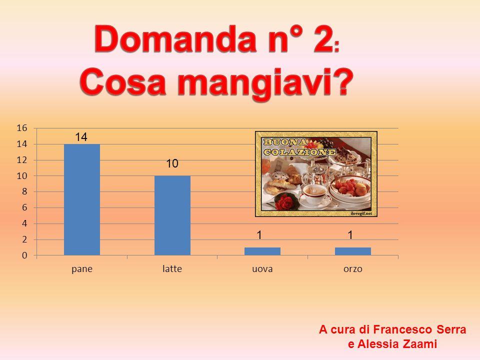 14 10 11 A cura di Francesco Serra e Alessia Zaami