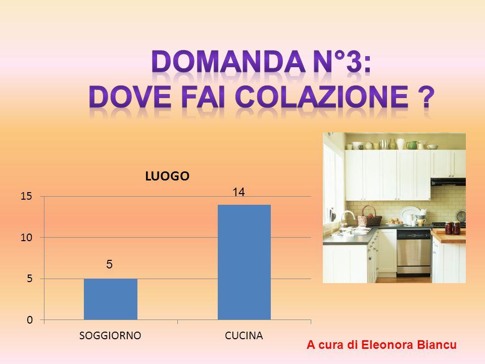 5 14 A cura di Eleonora Biancu
