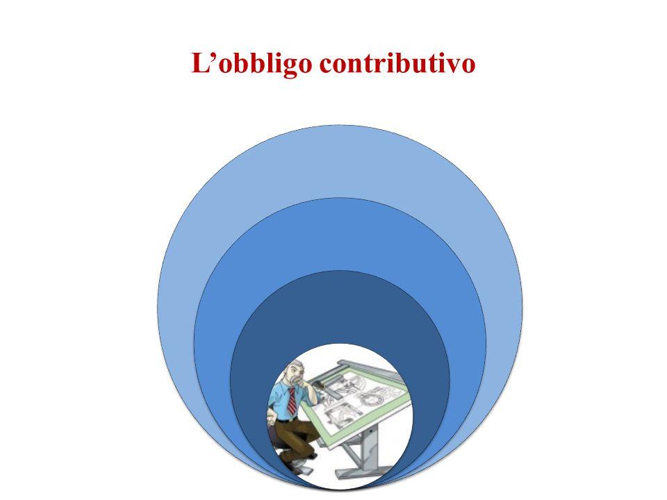 L'obbligo contributivo