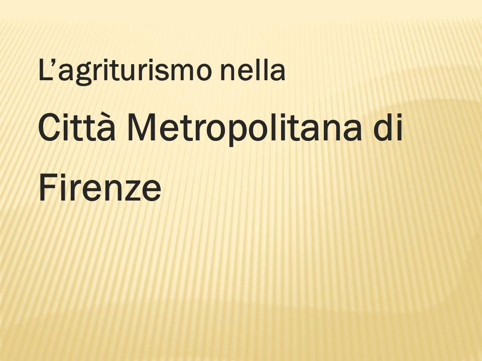 L'agriturismo nella Città Metropolitana di Firenze