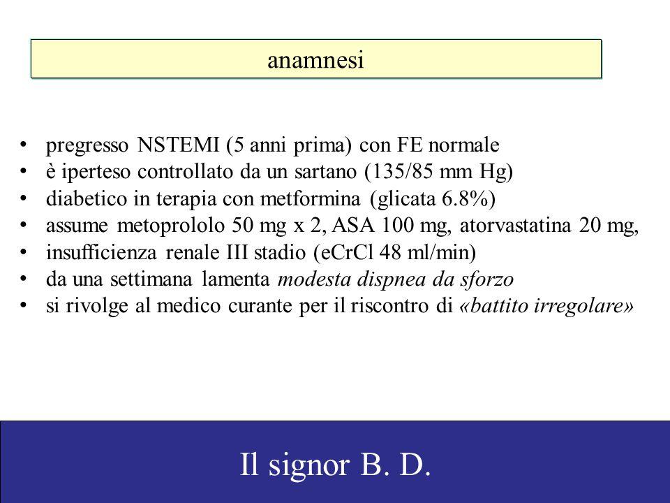 Domanda 4 TTR.esami ematochimici. visita cardiologica.