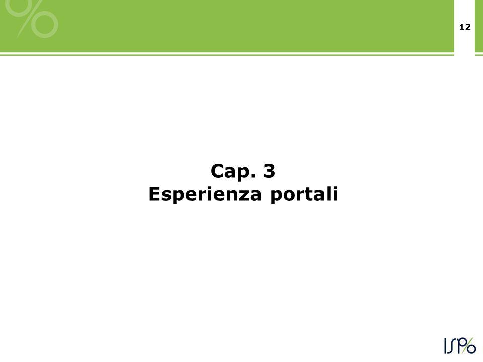 12 Cap. 3 Esperienza portali