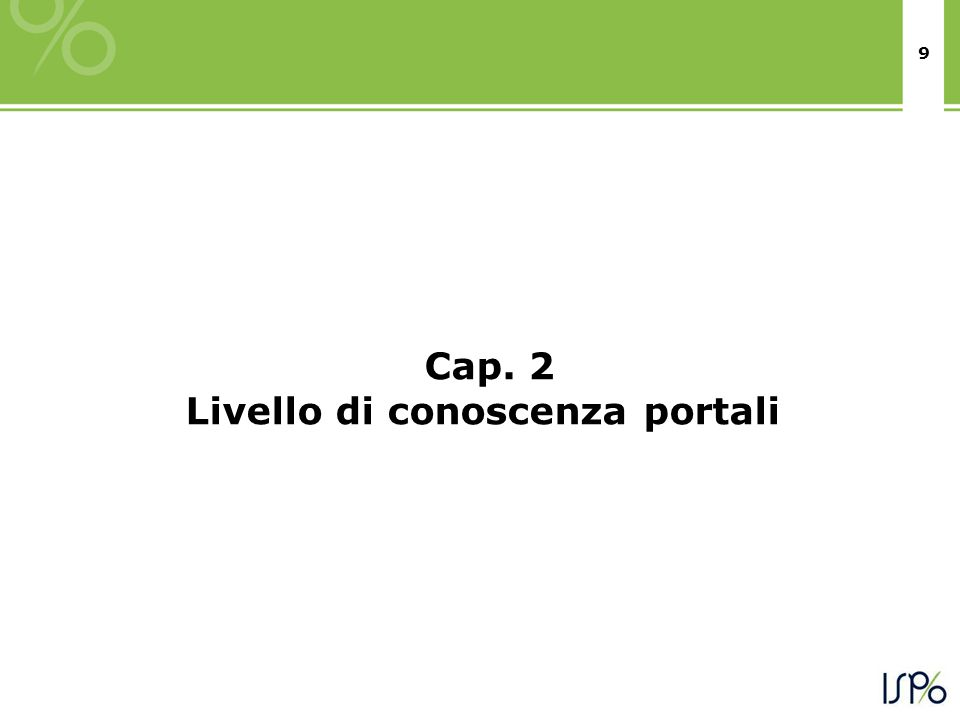 30 Il questionario Questionario: SISTEMI DI VALUTAZIONE DEI SISTEMI OSPEDALIERI IN ITALIA: CONOSCENZA, UTILIZZO, FRUIBILITA' - I GIUDIZI DEGLI ITALIANI Indagine per AIOP 1° (rif.