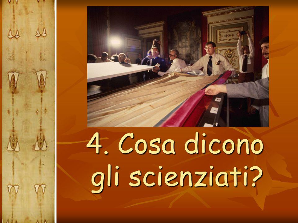 4. Cosa dicono gli scienziati? 4. Cosa dicono gli scienziati?