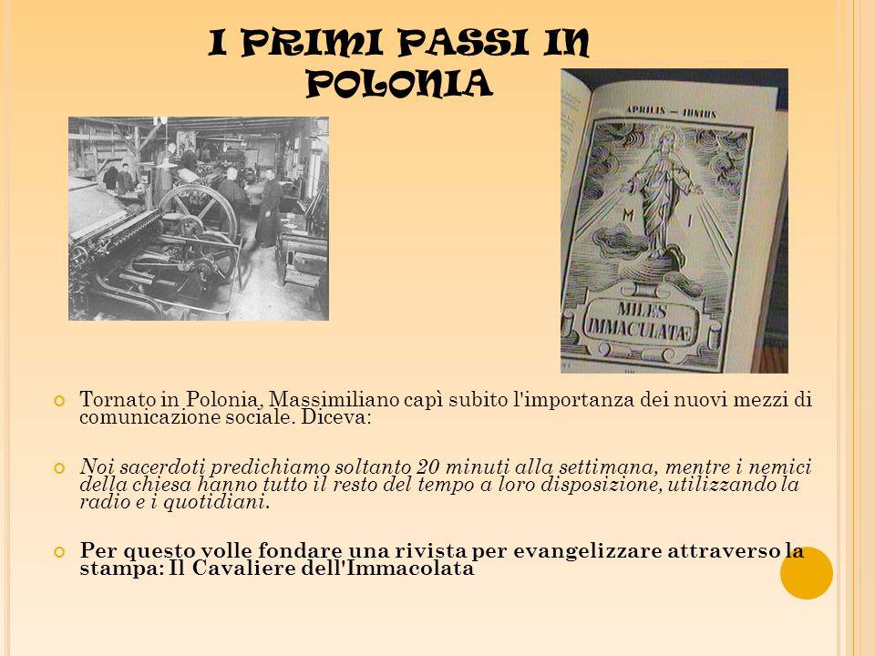 Per la stampa del primo numero de «Il Cavaliere» aveva contratto con la tipografia un grosso debito.