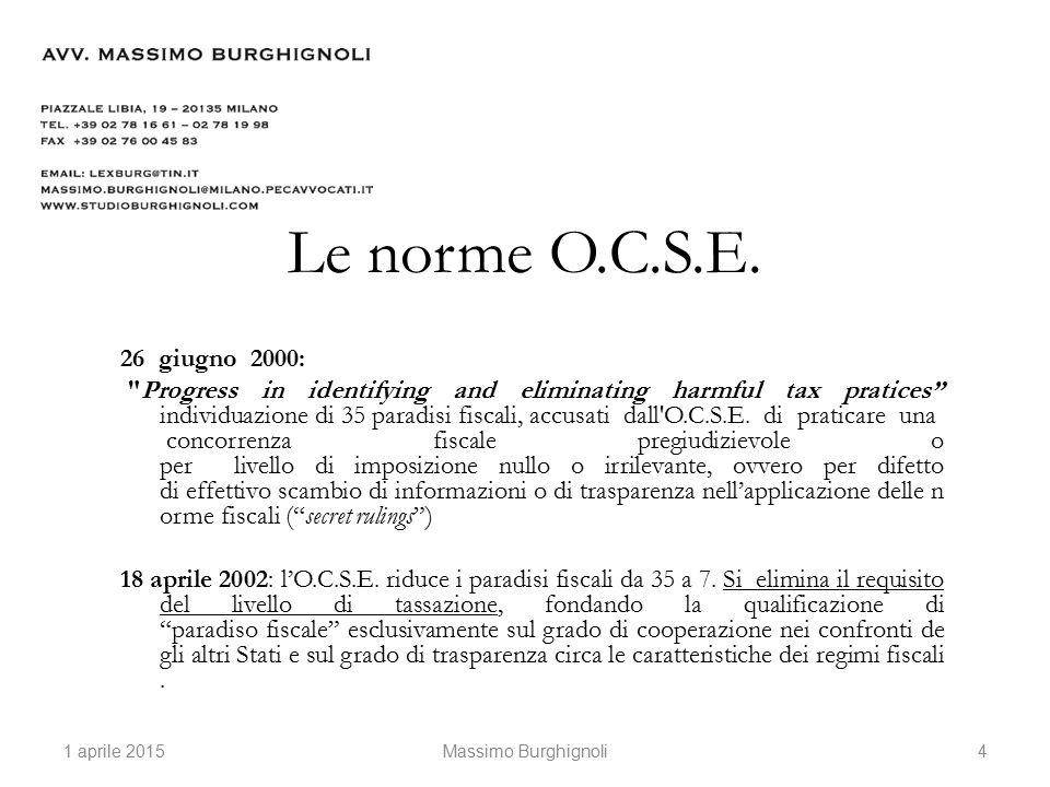 La disciplina italiana: art.127 bis DPR 917/1986 (pers.