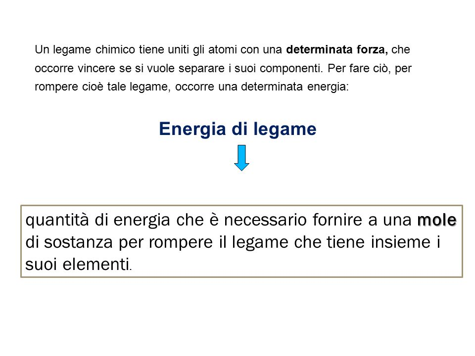 In altre parole… occorre ammettere che solo in condizioni particolari gli elettroni saltano da un atomo all'altro formando ioni.