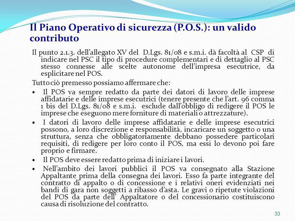 Il punto 2.1.3. dell'allegato XV del D.Lgs. 81/08 e s.m.i. dà facoltà al CSP di indicare nel PSC il tipo di procedure complementari e di dettaglio al