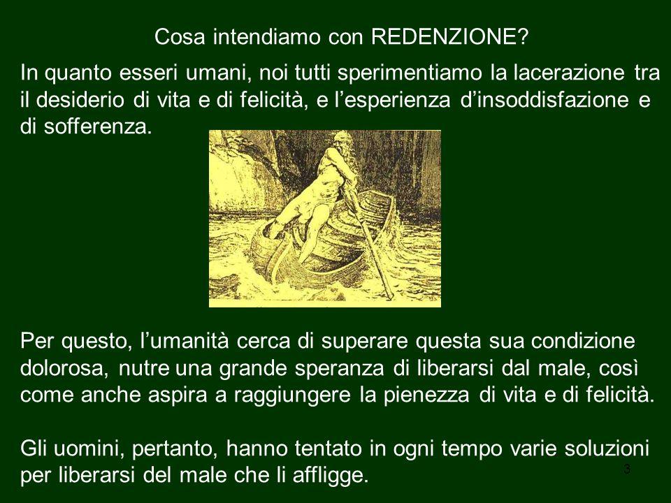 14 Il destino dell'uomo e l'origine dei mali di cui soffre Questa ri-CREAZIONE o ri-generazione -avvenga essa mediante il sacramento o in altro modo- implica ed esige un intervento diretto di Dio.