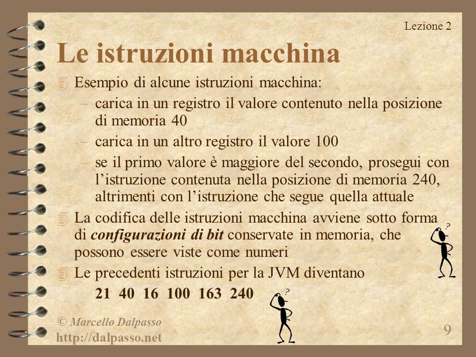 © Marcello Dalpasso http://dalpasso.net 20 Intervallo
