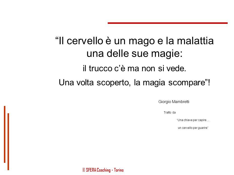 © SFERA Coaching - Torino Life Coaching Health Coaching Le competenze del Coaching nella relazione Persona - Malattia