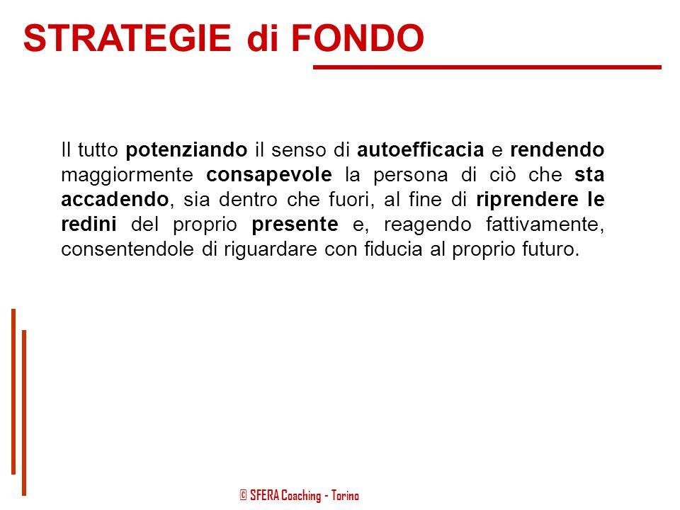 © SFERA Coaching - Torino Tutta l'attività svolta all'interno delle relazioni d'aiuto ruota intorno a questi semplici pensieri: aprire la mente della